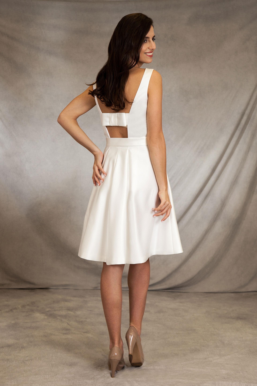 Brautkleid Paloma mit Schleifen-Highlight am Rücken
