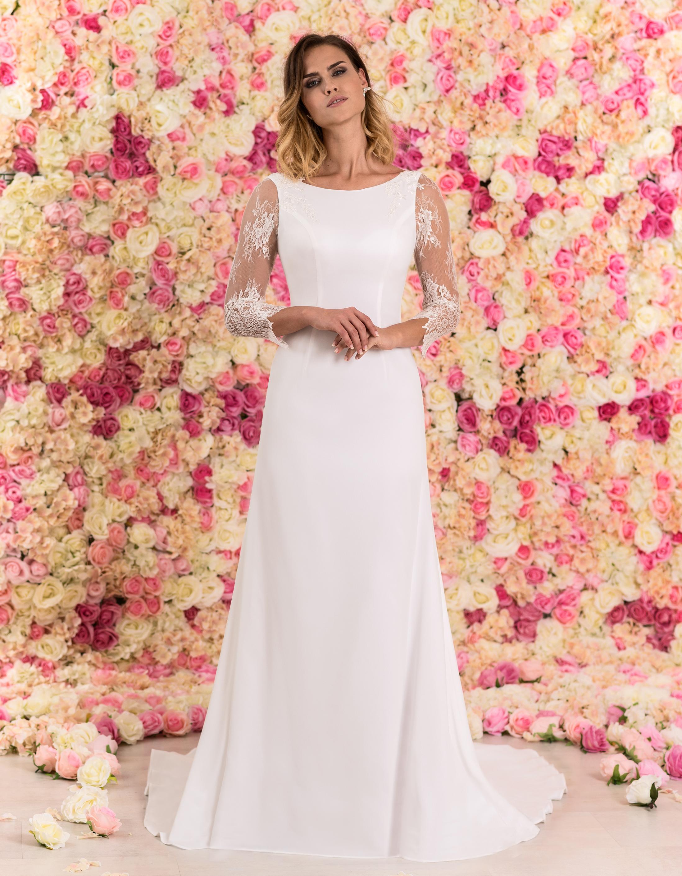 Brautkleid Caprice mit langen Ärmeln aus Spitze