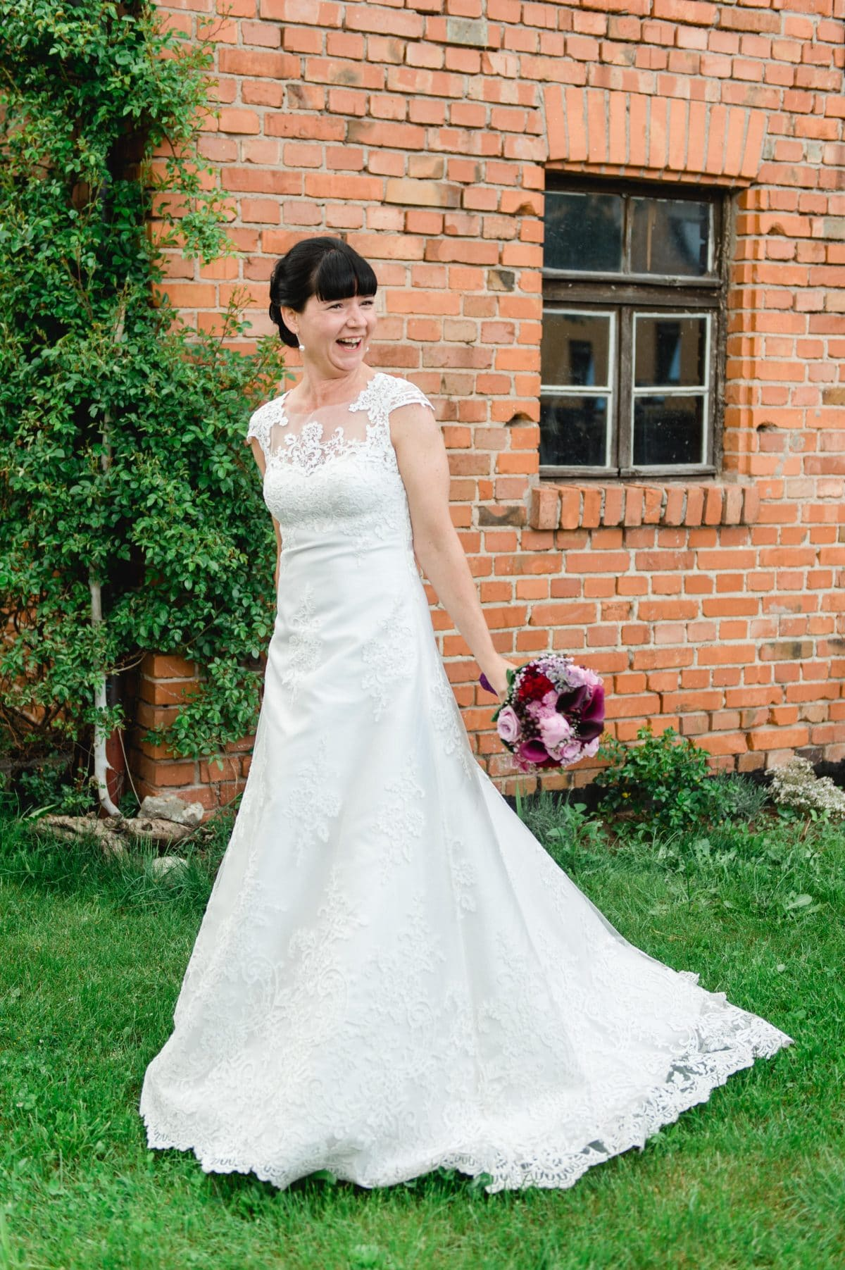Daniela's Brautkleid nach Maß