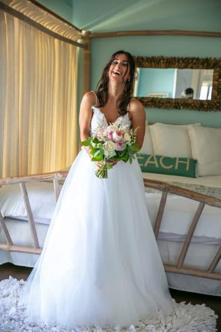 Elena's Brautkleid nach Maß