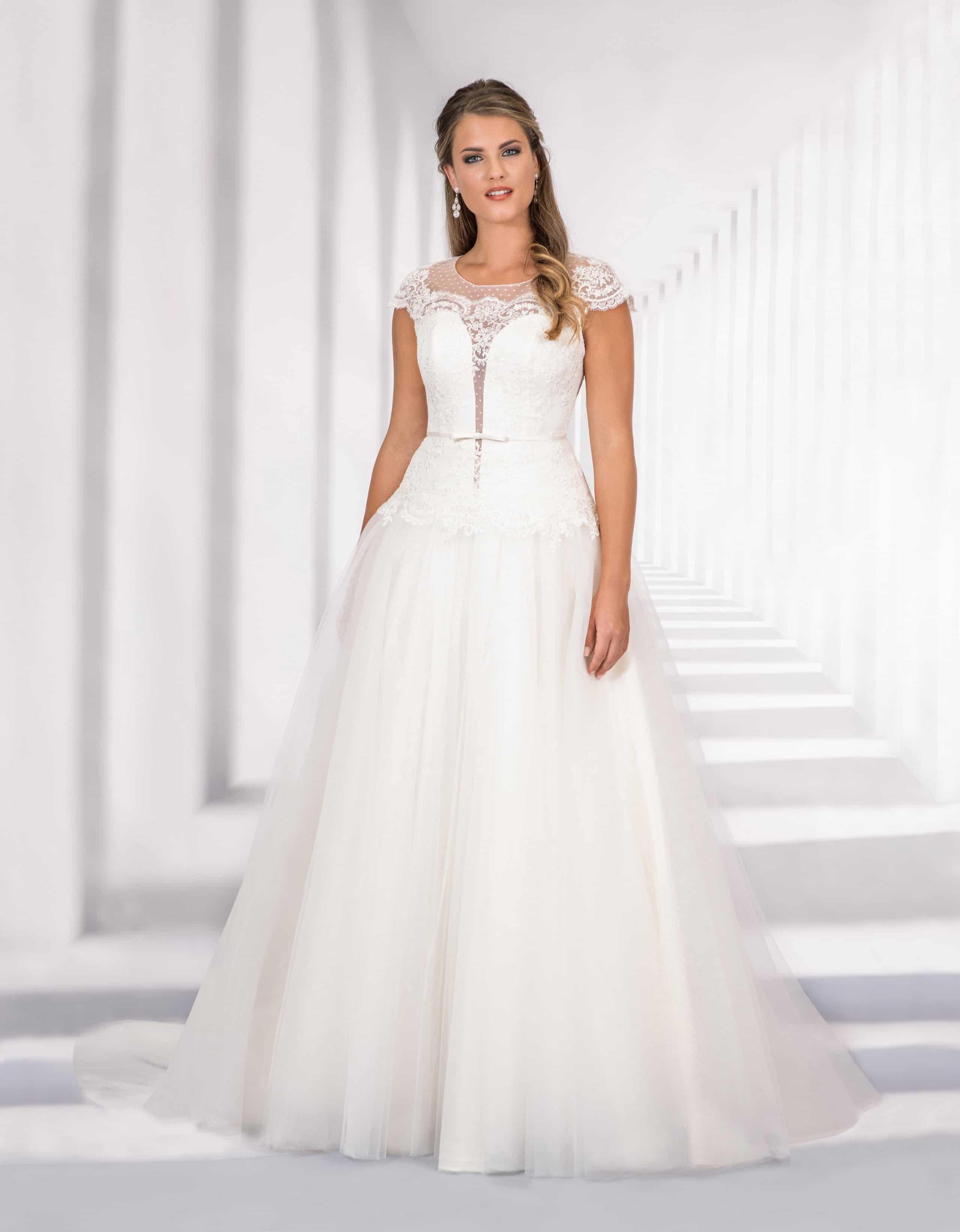 Brautkleid in A-Linie Gabriele