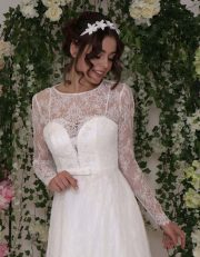 Spitzen Brautkleid im Vintage-Stil