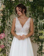 Brautkleid mit cut-outs Details